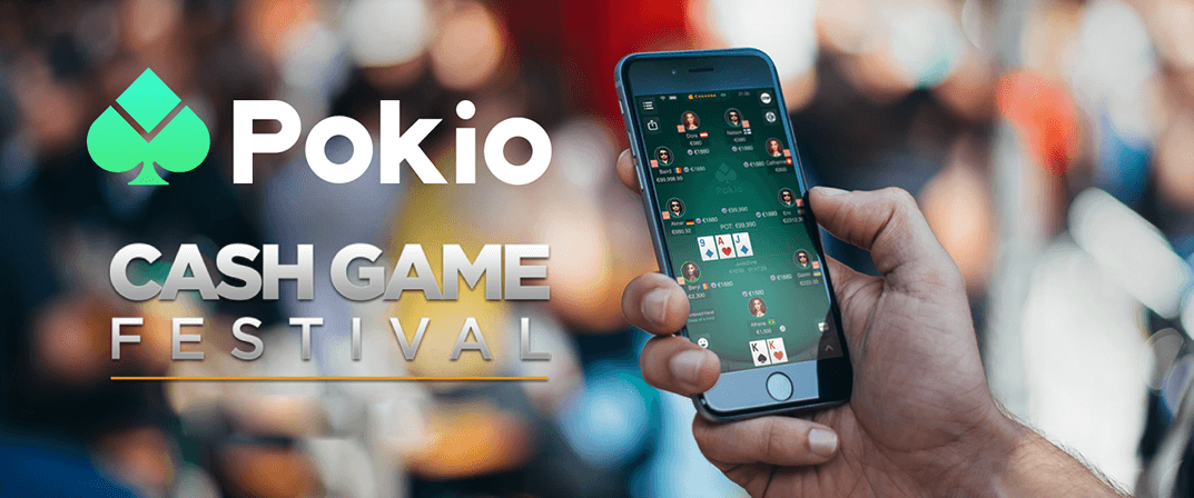 Pokio Enters New Partnership with Cash Game Festival